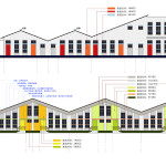final scheme facades color design